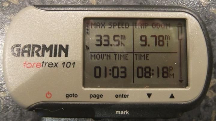 GPS speed at WPSC