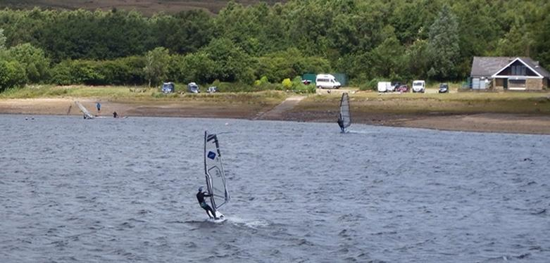Inland Windsurfing at Its Best.